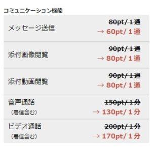 男性会員価格表